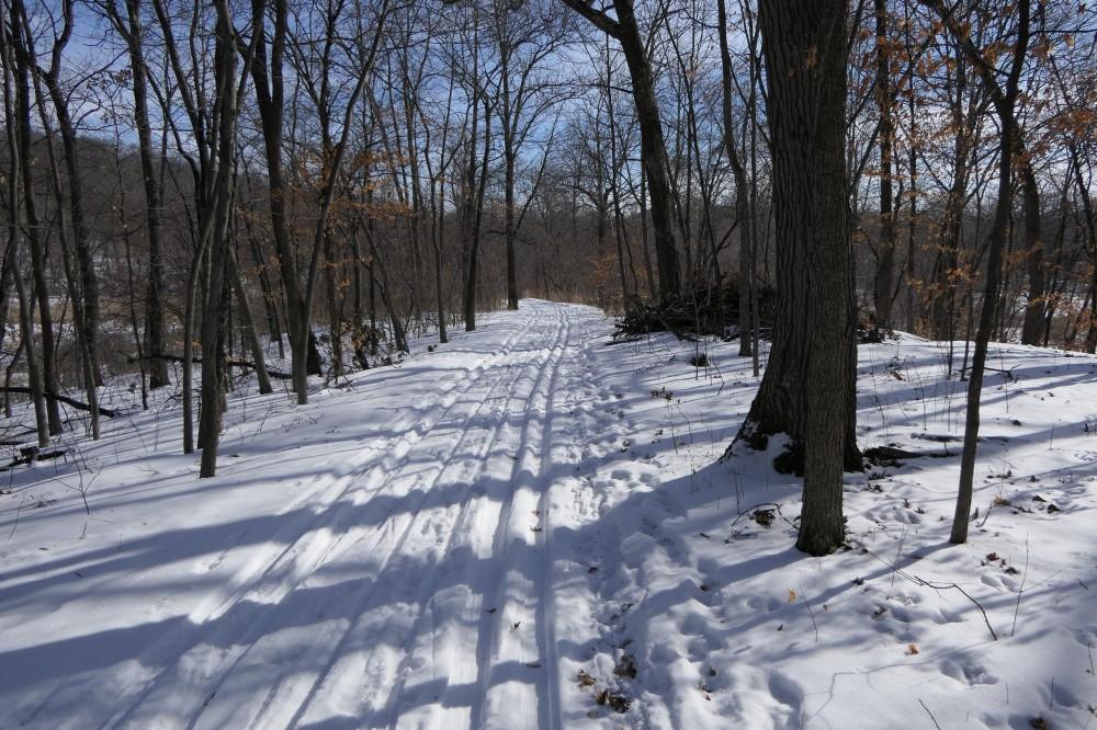 Winter East Side Trail